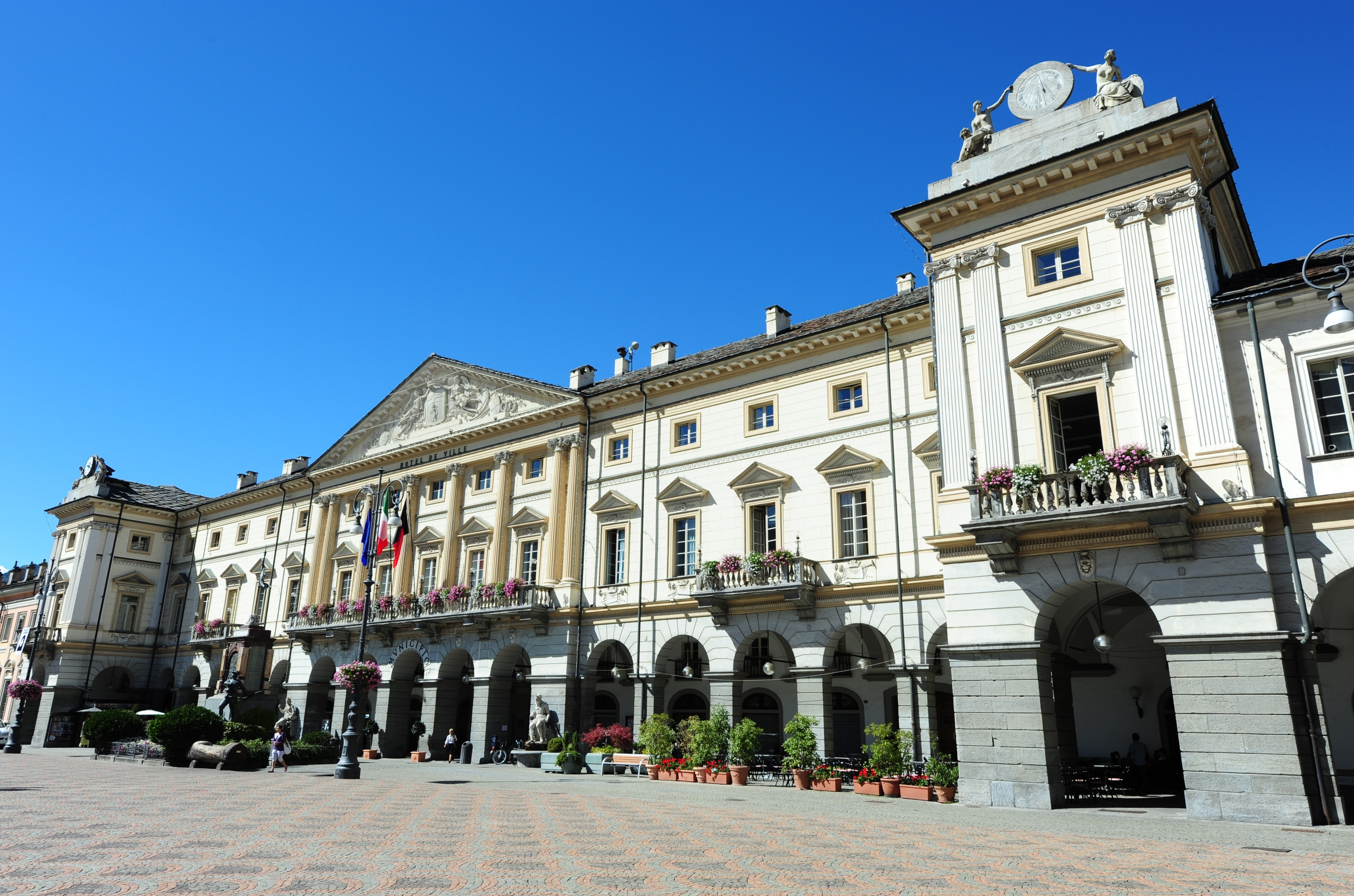 foto municipio Aosta